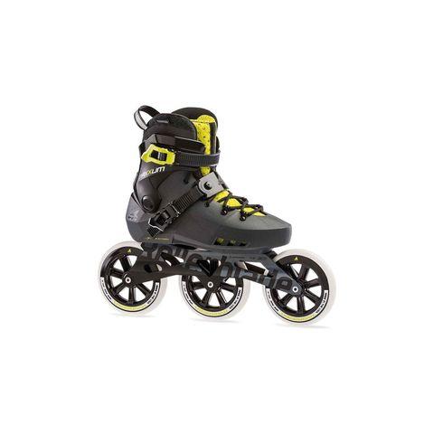 rollerblade maxxum edge inline skates zwart geel unisex skeelers skeeleren dames heren