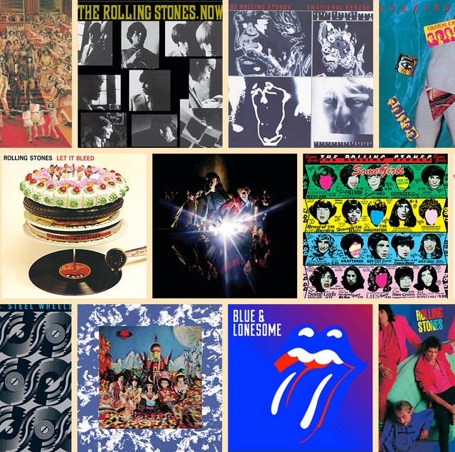 ローリング・ストーンズの歴代アルバムをランク付け