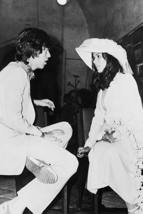 mick and bianca jagger wedding