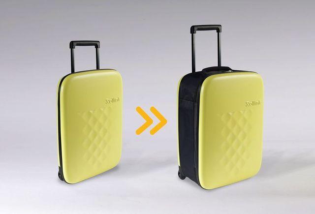 最薄のトラベラーズバッグrollinkのスーツケース