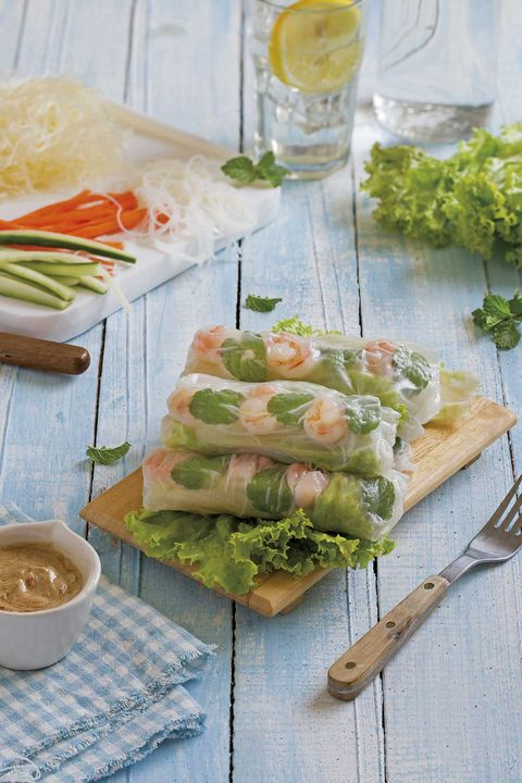 rollitos vietnamitas de verduras