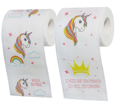 Papel higiénico de unicornios- Unicornios en papel higiénico