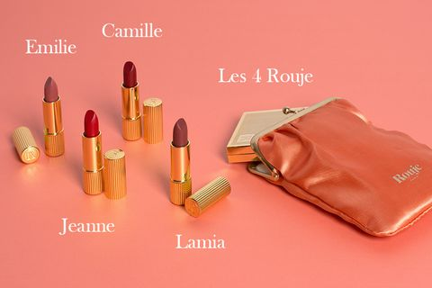 Product, Pink, Lipstick, Beauty, Cosmetics, Ammunition, Material property, Bullet, Peach, Lip gloss,