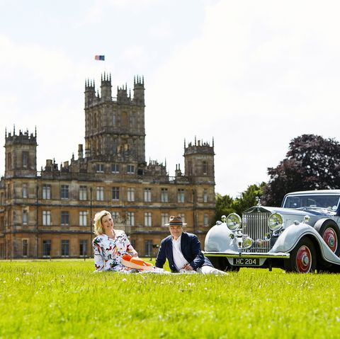 Highclere Castle Filming Location of Downton Abbey