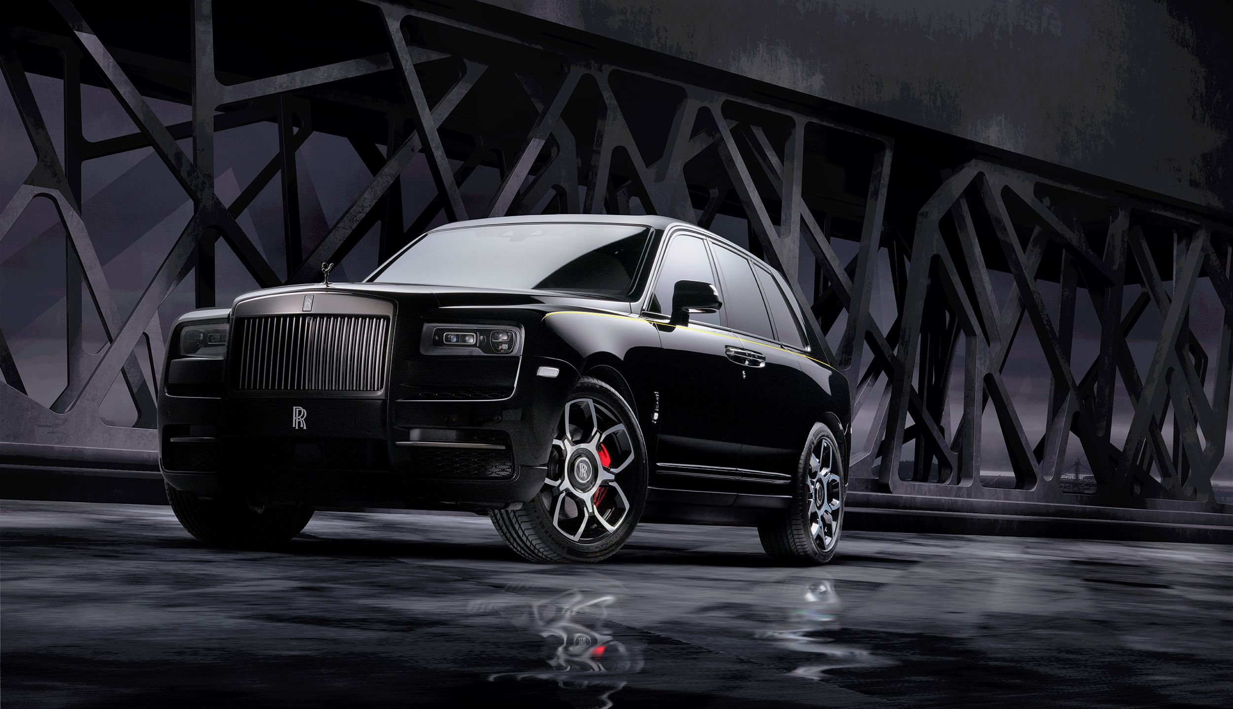 Rolls Royce Black Badge Endows Cullinan With Sport Exhaust Red Calipers