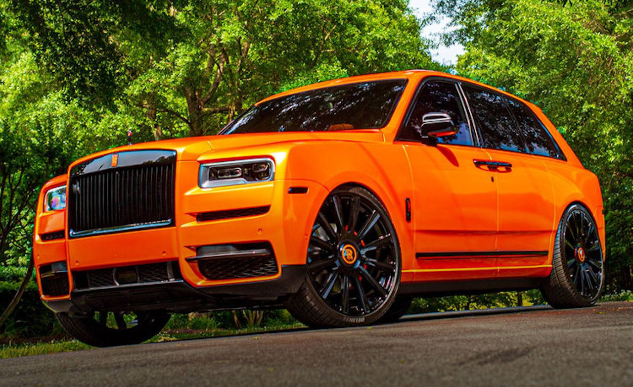 Rolls Royce Cullinan Gets Cleveland Browns Customization