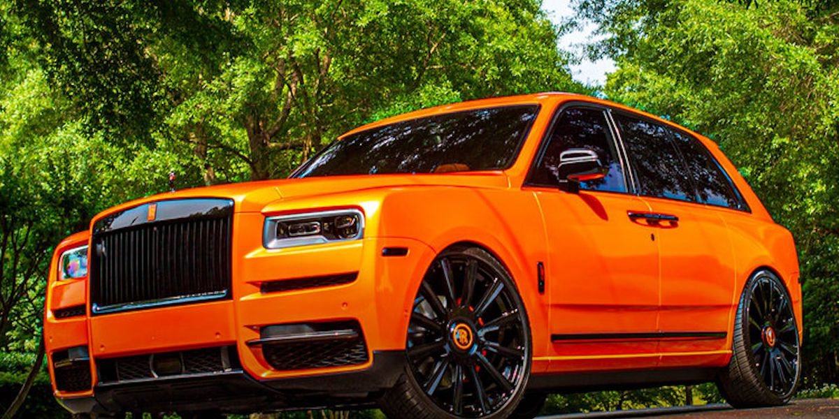 Rolls-Royce Cullinan Gets Dawg Pound Orange Customization ...