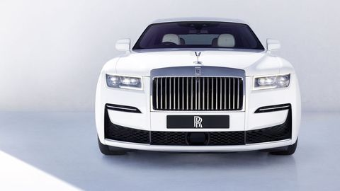 the new 2020 'baby roller' the rolls royce ghost launched this september