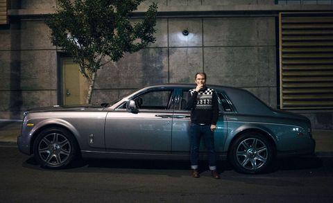 Uber Rides in a Rolls-Royce Phantom