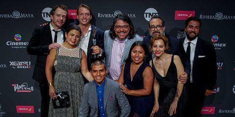 """El equipo de """"Roma"""" en los Premios Platino 2019"""