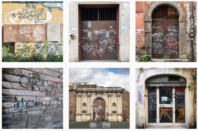 l'account instagram roman doors