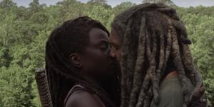 The Walking Dead romance Michonne Ezekiel