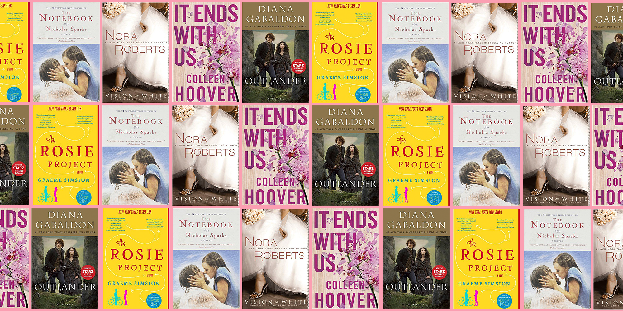 The 20 Greatest Ever Romance Novels, According to Goodreads Reviews