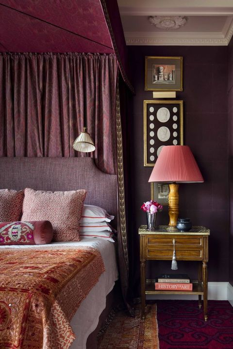 15 Romantic Bedroom Ideas - Sensual Bedroom Design Tips on Bed Ideas For Small Rooms  id=42829