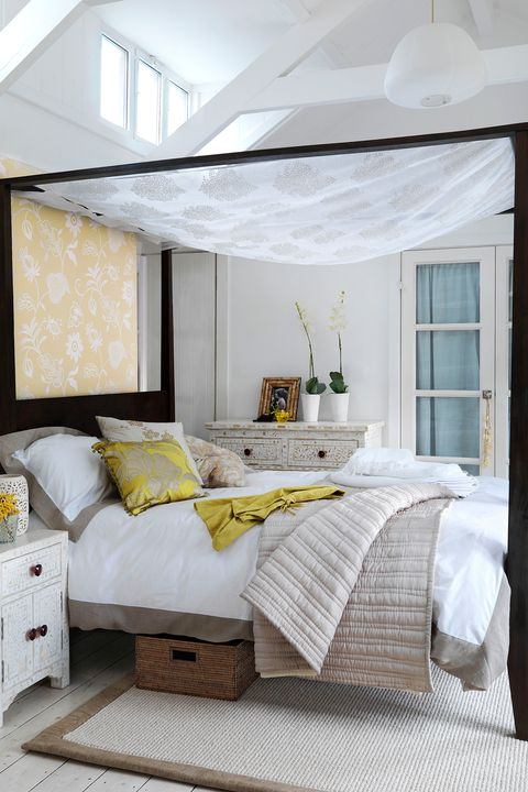 15 Romantic Bedroom Ideas - Sensual Bedroom Design Tips on Bed Ideas For Small Rooms  id=20153