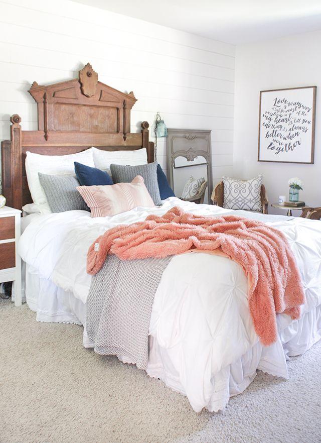 22 diy romantic bedroom decorating ideas rh countryliving com diy bedroom decorating ideas for small rooms diy bedroom decorating ideas for couples