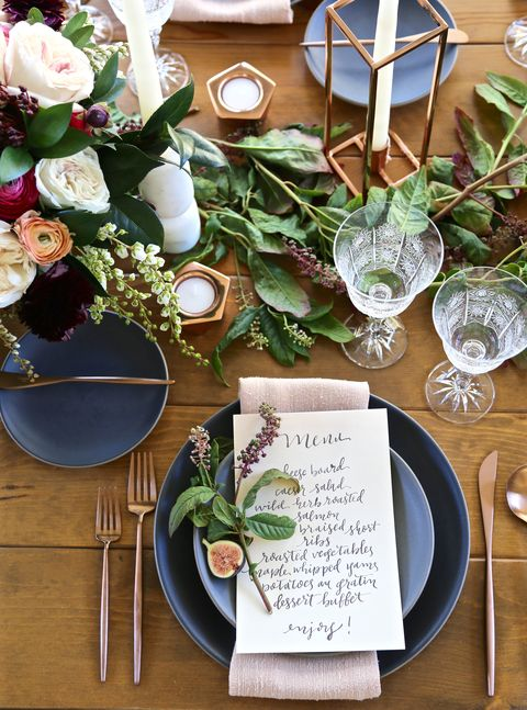 romantic bridal shower dinner party
