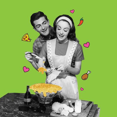 Comfort food, Food, Illustration, Junk food, Cuisine, Dish, Happy, Cooking,