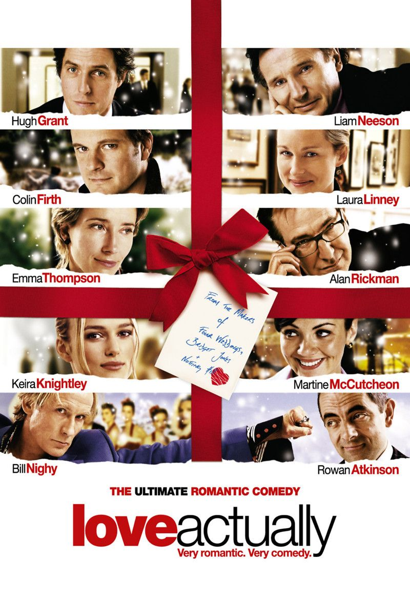 romantic christmas movies love actually