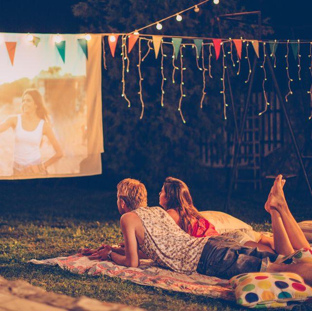 cine verano jardin