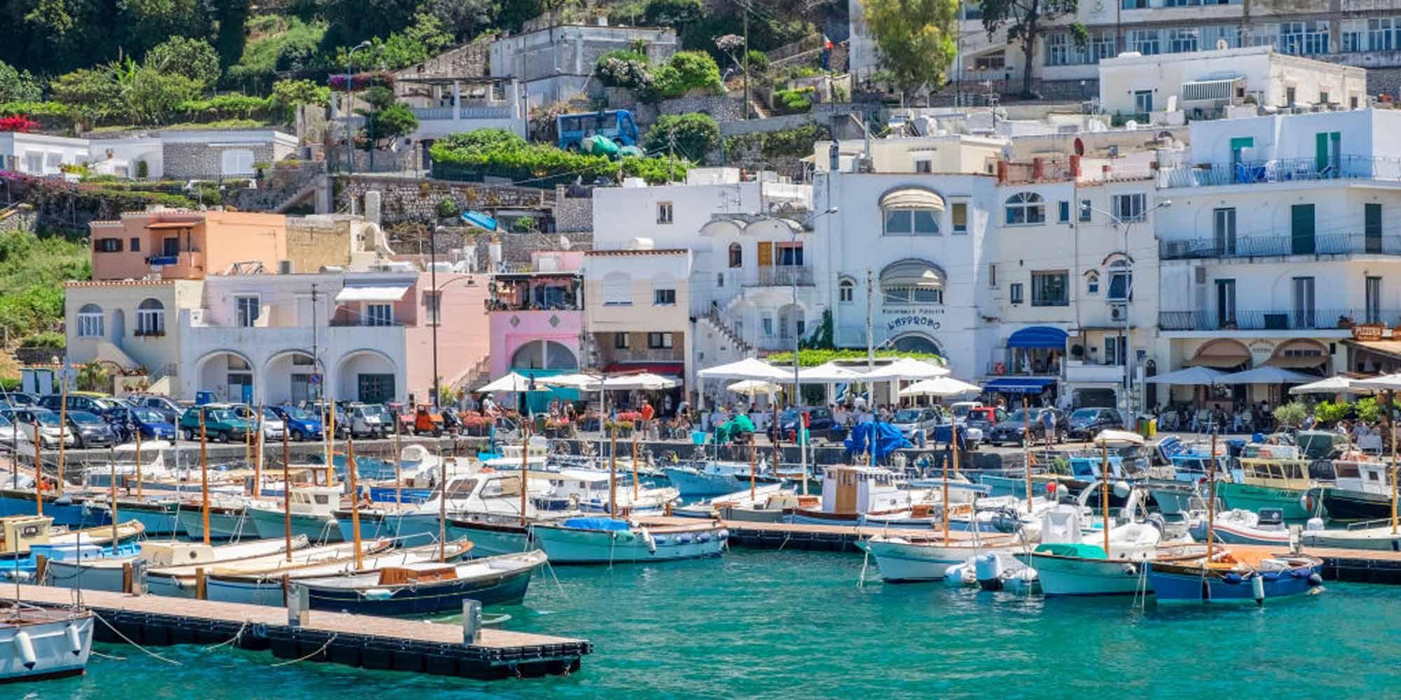 romantische bestemmingen, huwelijksreis, Europa, Capri