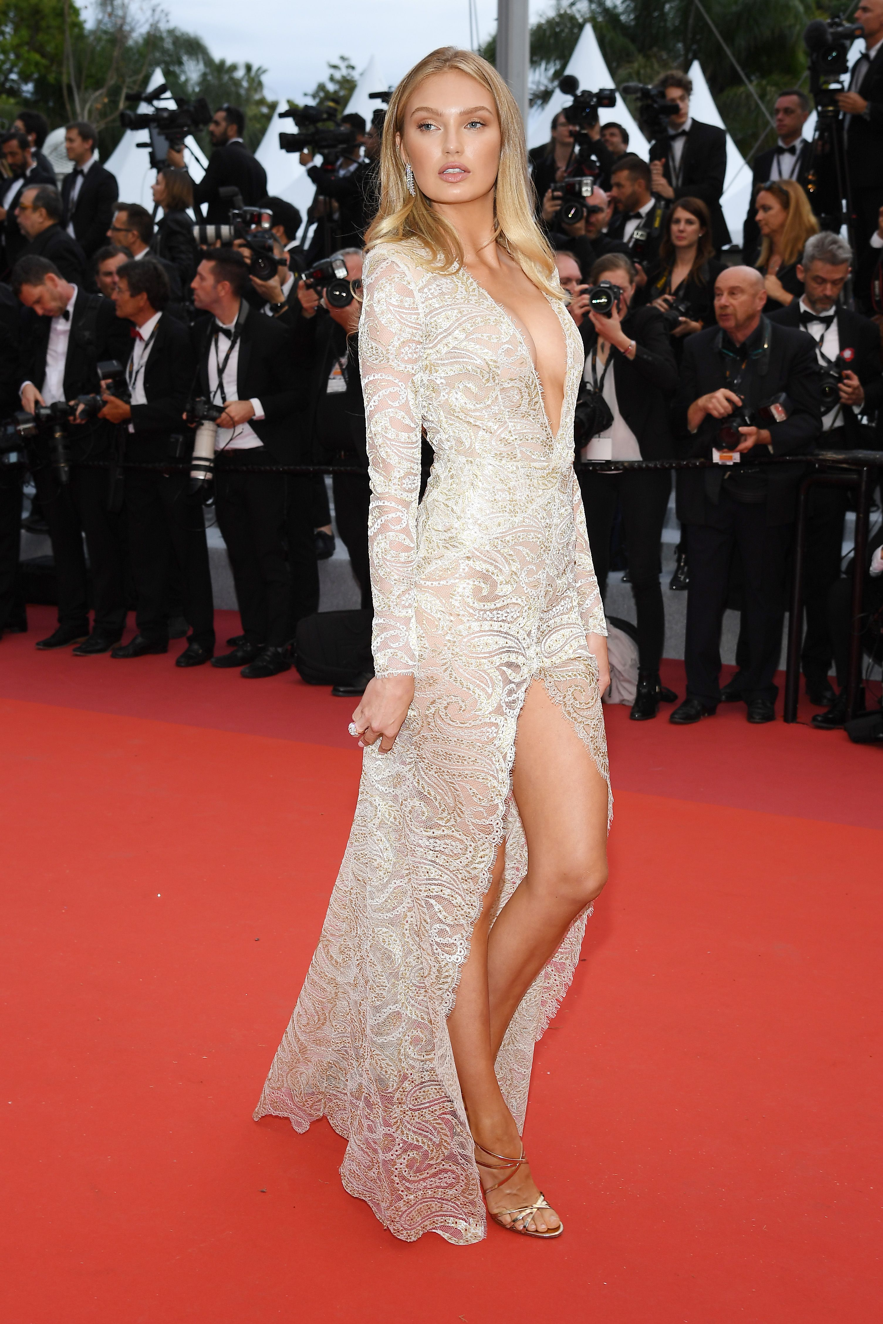 Romee Strijd At the opening ceremony of the Cannes Film Festival and premiere of The Dead Don't Die .