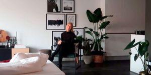 Romee Strijd, ángel de Victoria's Secret, enseña su casa en Amsterdam