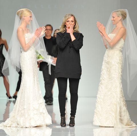 This Designer Turns Celebrity Red Carpet Dresses Into Bridal Wear