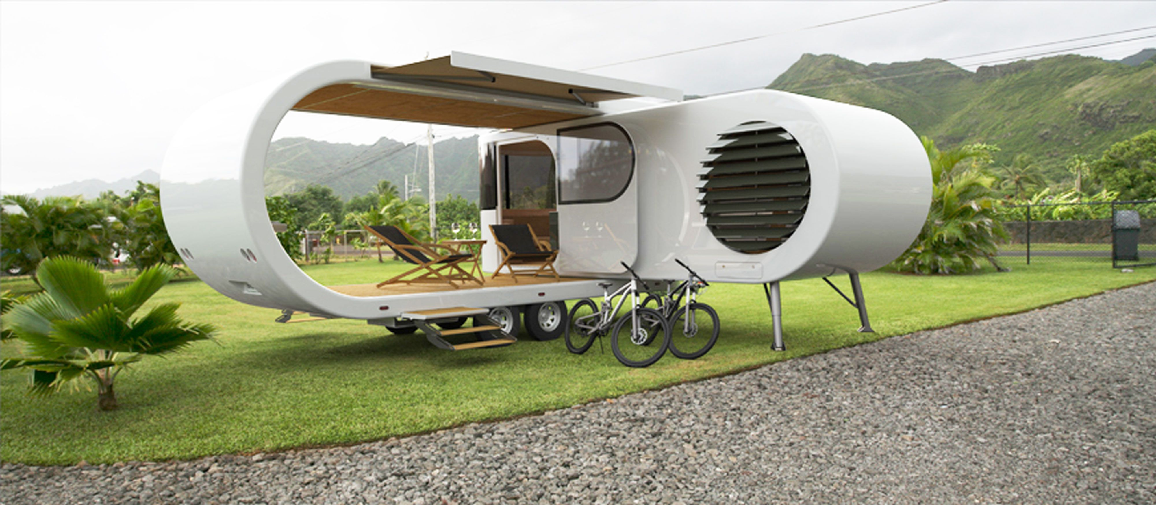 This Crazy-Cool Romotow Camper Looks Like It's From the Future
