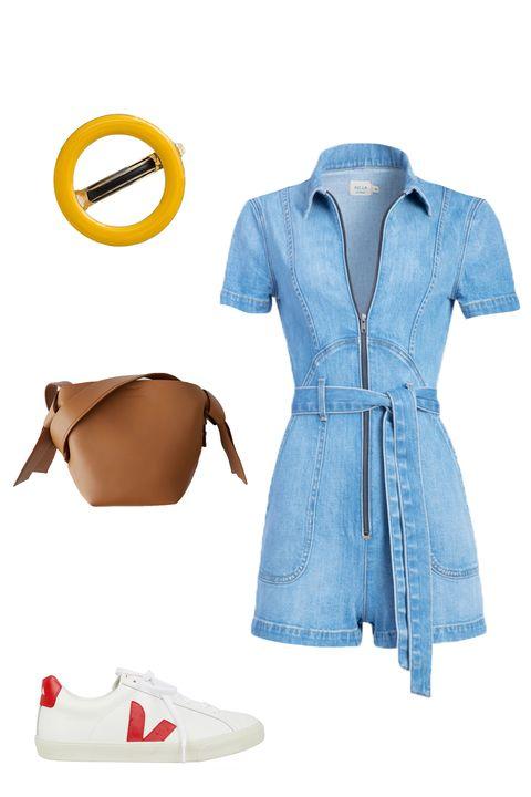Blue, Sleeve, Collar, Textile, White, Electric blue, Fashion, Pattern, Beige, Cobalt blue,