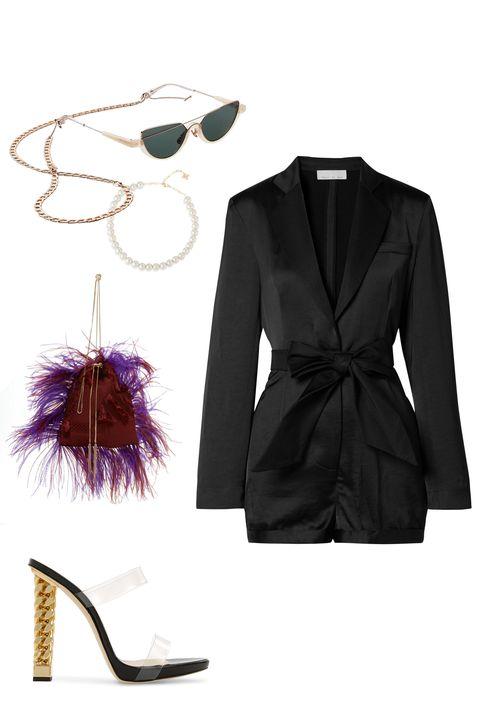 Collar, Sleeve, Outerwear, Coat, Formal wear, Style, Earrings, Brush, Blazer, Costume accessory,
