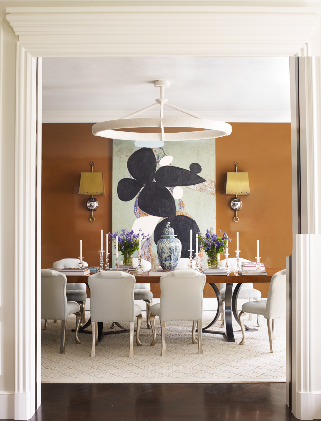 Benjamin Moore Georgian Green best dining room paint colors - color schemes for dining rooms