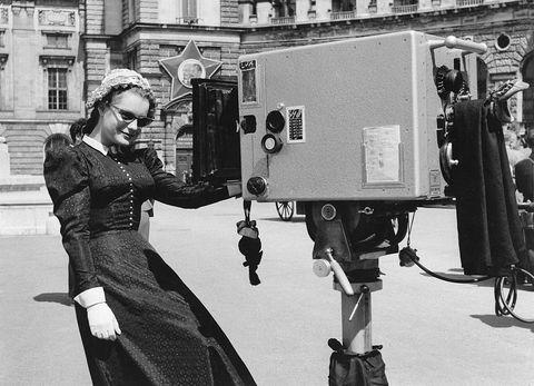 Photograph, Standing, Snapshot, Black-and-white, Photography, Technology, Monochrome, Machine, Style, Camera operator,