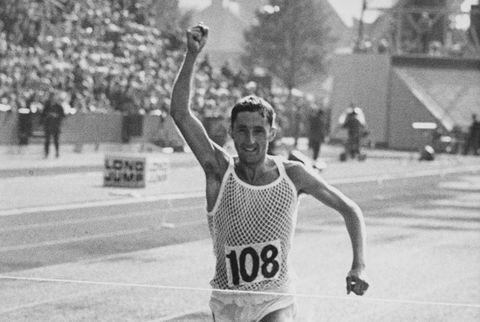 Ron Hill Wins Marathon