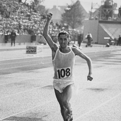 Ron Hill's run streak