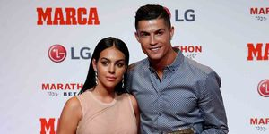 Ronaldo Georgina Premio Marca en Madrid