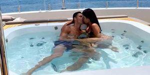 Ronaldo y Georgina, sus vacaciones de lujo