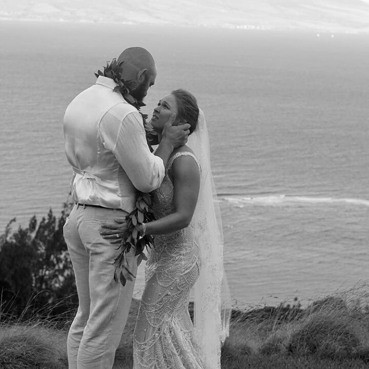 Ronda Rousey Wedding Dress Designers