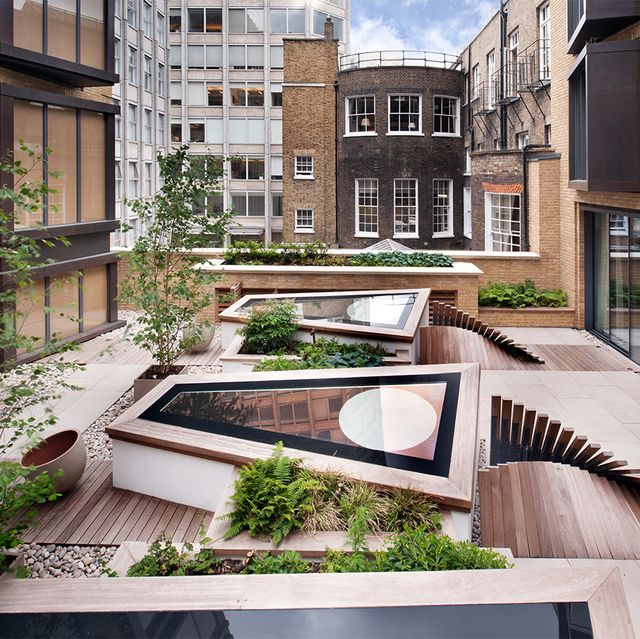 Designing A Roof Terrace Roof Garden Design Ideas
