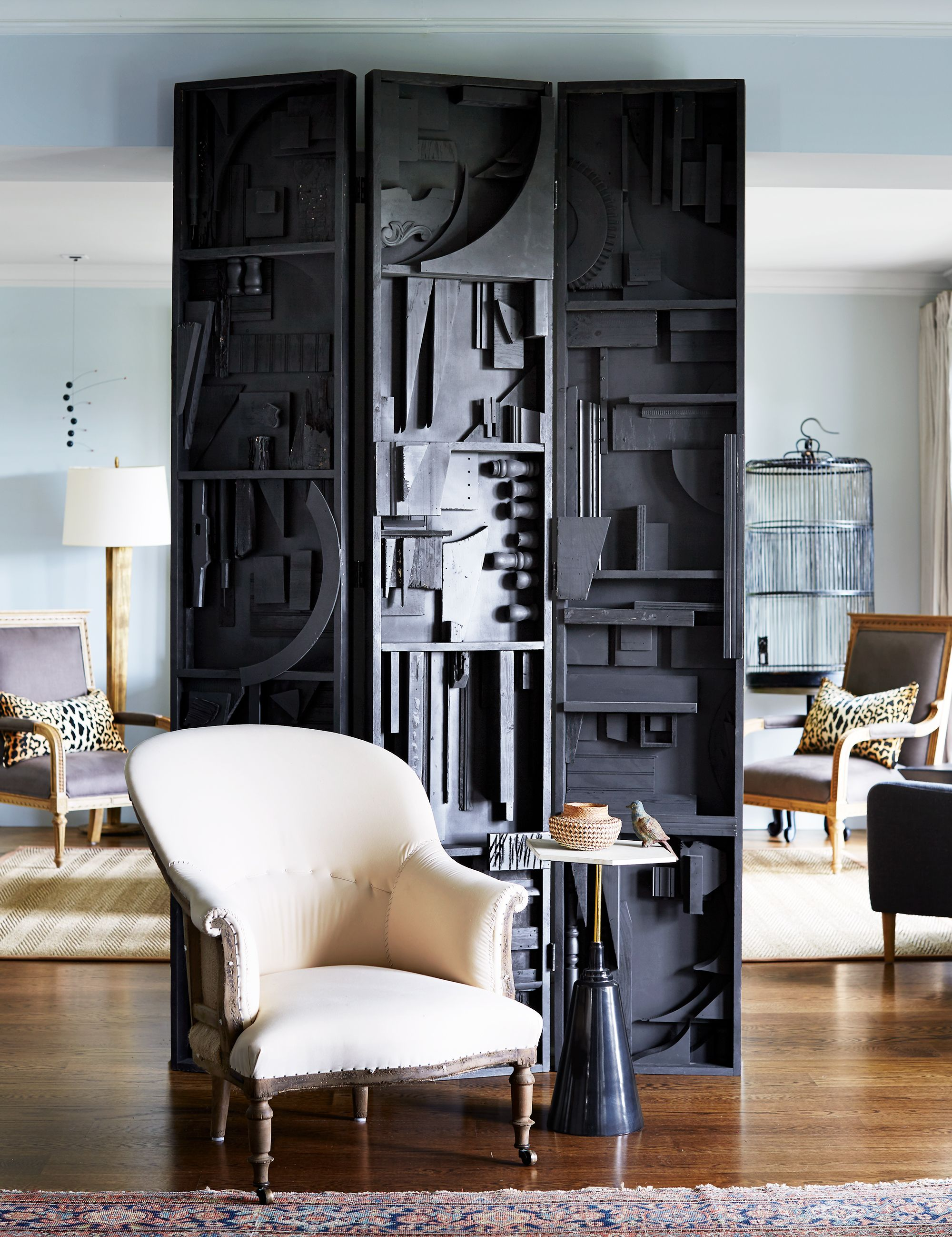 20 Clever Room Divider Ideas , Folding Screen and Wall