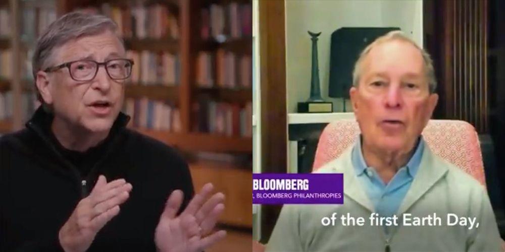 Billionaires' Homes On Coronavirus Video Chats