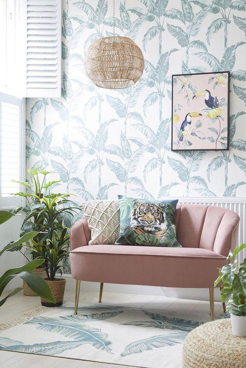 shop the full look at dunelm wallpaper home decor interior