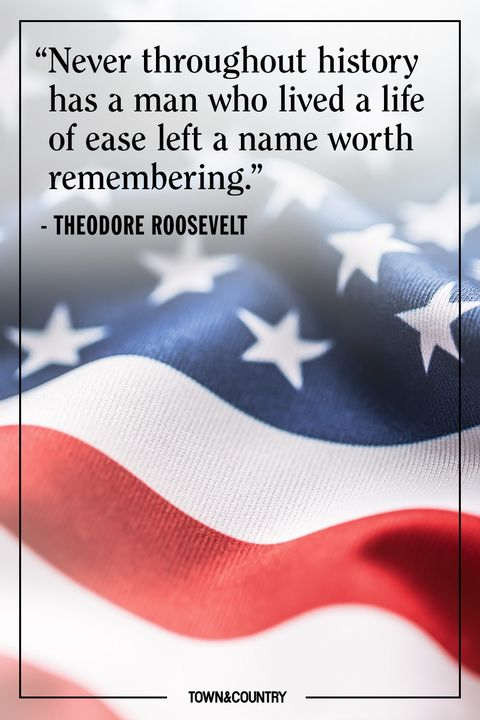 theodore roosevelt memorial day quote
