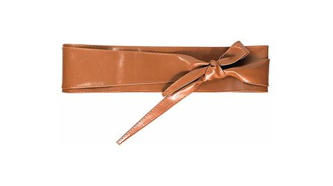 Brown, Ribbon, Tan, Beige, Satin, Fashion accessory, Material property, Leather, Belt, Copper,