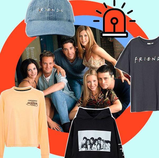 ropa para ver el reencuentro de 'friends'