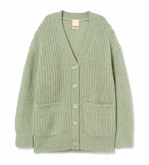 Clothing, Outerwear, Woolen, Sweater, Sleeve, Cardigan, Wool, Beige, Top, Button,