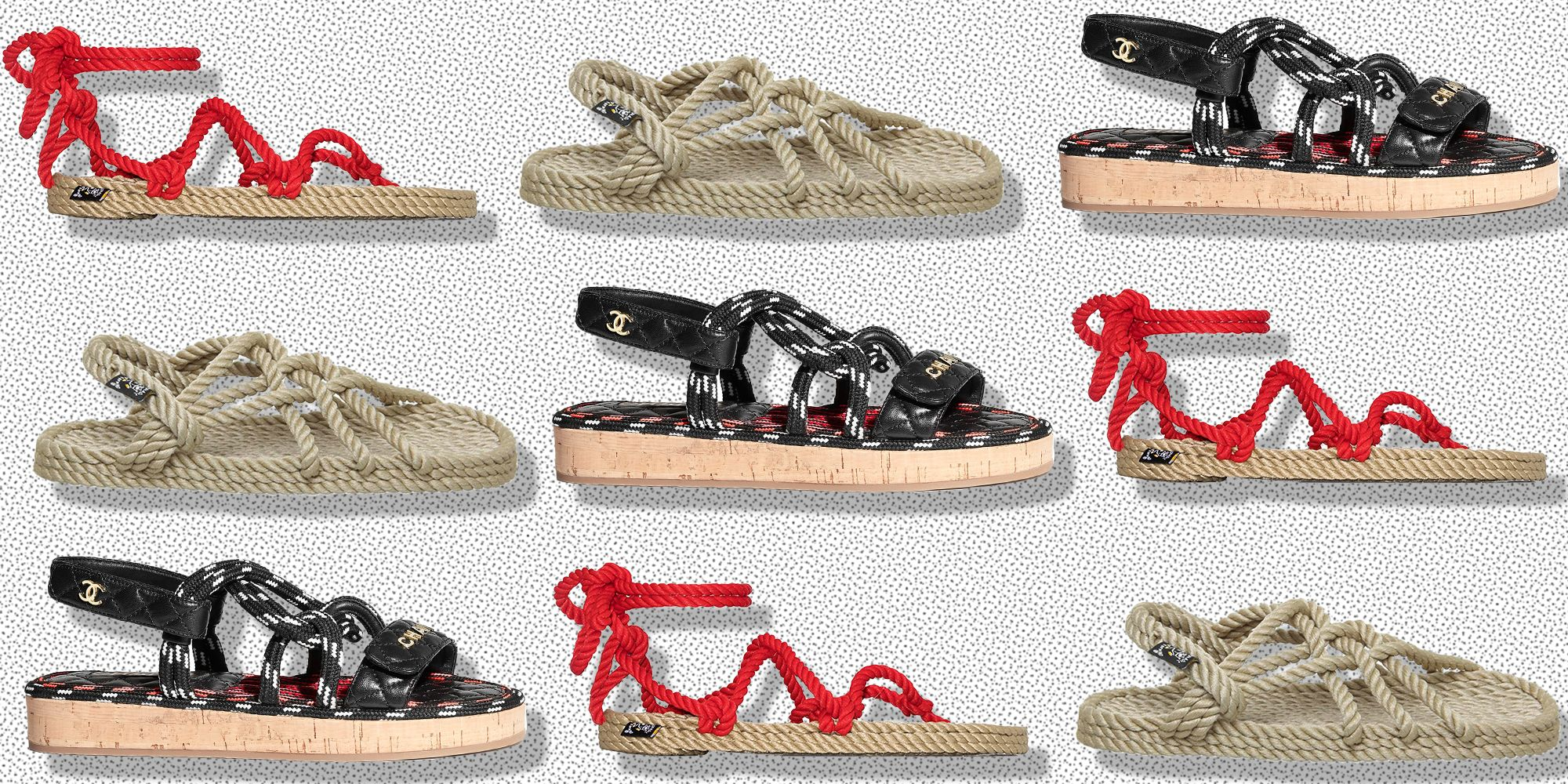 Rope Sandals To Put A Nautical Spring