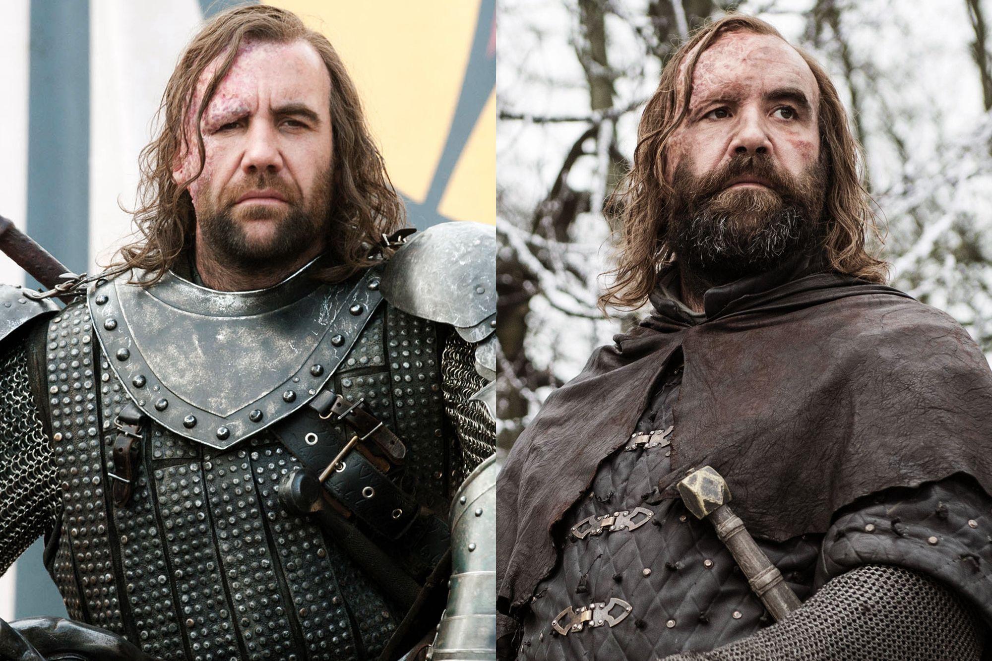 Rory McCann as Sandor 'The Hound' Clegane Season One to Season Eight.
