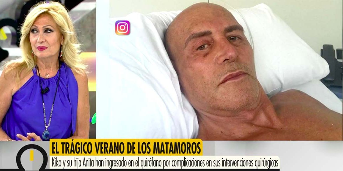 Rosa Benito le envía un detalle muy especial a Kiko Matamoros para desearle una pronta recuperación