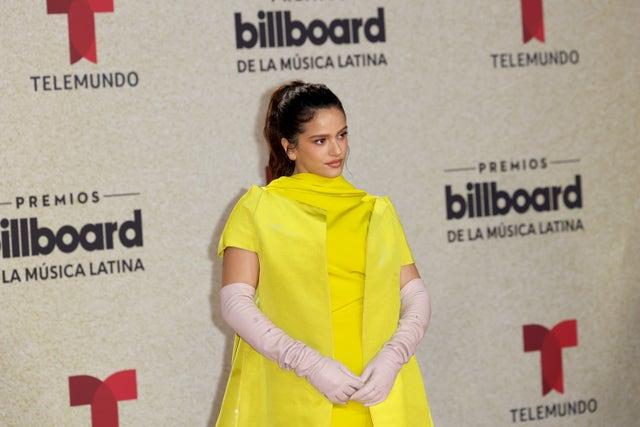 rosalía 2021 billboard latin music awards